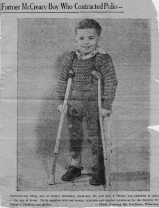 Full body braces 1955