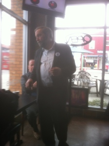 Tom Mulcair, Kelowna lunch