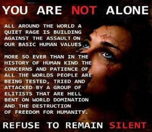 Refuse to remain silent