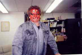 Halloween face