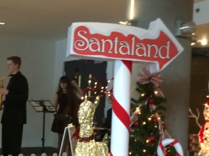 Santaland may be out there but we live in the real world!  Merry Christmas