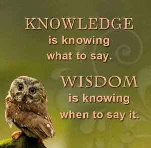 knowledge-wisdom