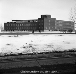 1960 Picture of the Alberta Children's Hospital in Calgary